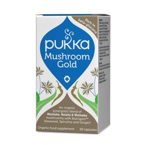 Pukka mushroom gold